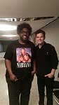 With Questlove at The Late Show with Jimmy Fallon